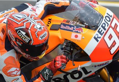 Tebar Ancaman, Marquez Pede Kuasai GP Jerman