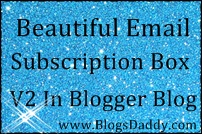 How to Add Beautiful Email Subscription Box V2 In Blogger Blog