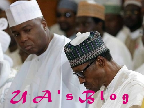 Nigerians more divided under APC govt, you can't give what you don't have – Saraki blasts Buhari