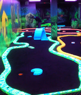 Photo of the King Putt Mini Golf course in Las Vegas