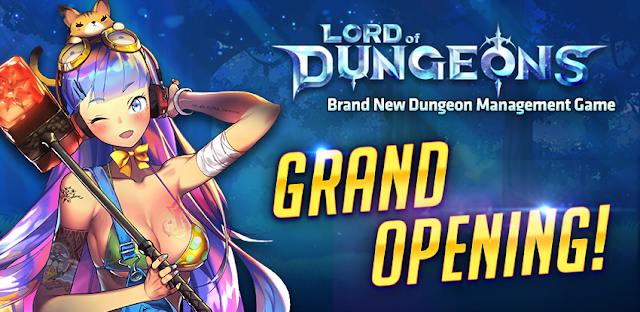 Lord of Dungeons is Now Available to Play For Android Games : Lord of Dungeons is Now Available to Play For Android/iOS