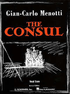 Gian-Carlo Menotti - The Consul - vocal score
