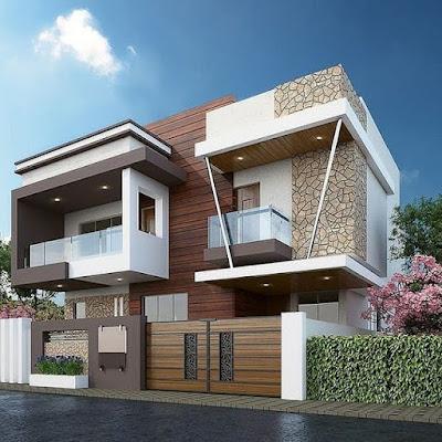 model rumah gaya eropa cantik