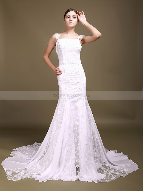 Used Lace Wedding Dress
