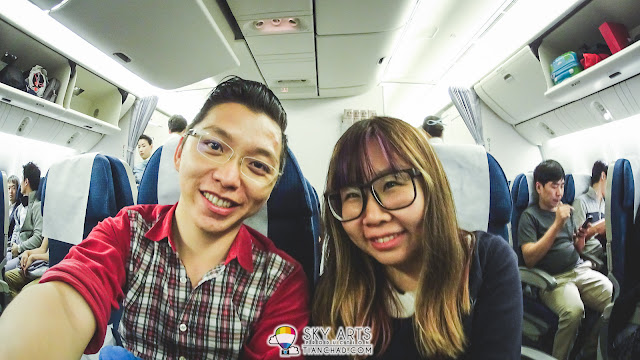 CheeChing was one of the travel partners in this Jeju trip. Yay!