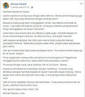 Kembali Kepada Al-Quran - Kajian Medina