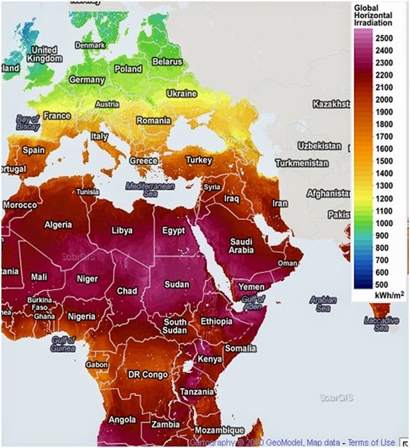 بحث عن الطاقة الشمسية