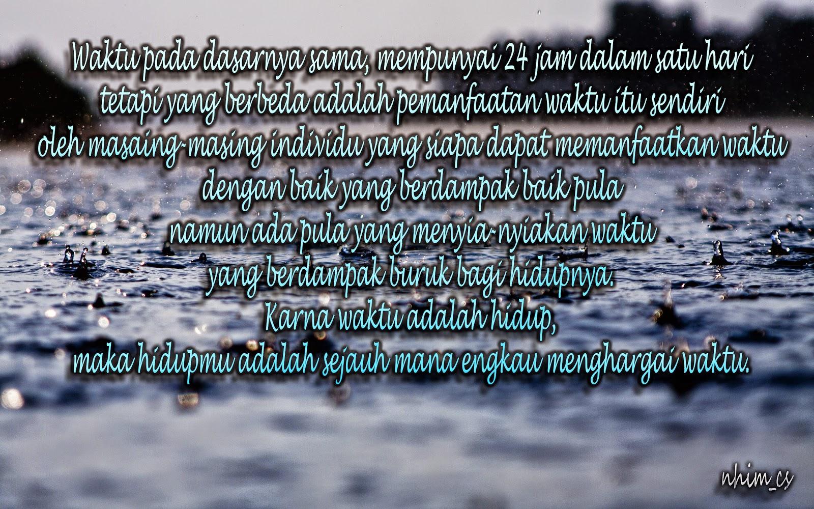 Kata Kata Hujan Di Malam Hari Islami