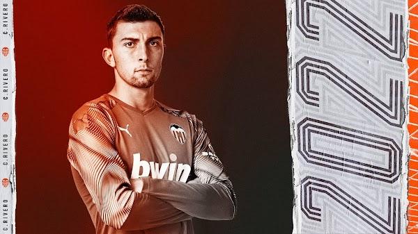 Oficial: El Valencia renueva a Cristian Rivero hasta 2022
