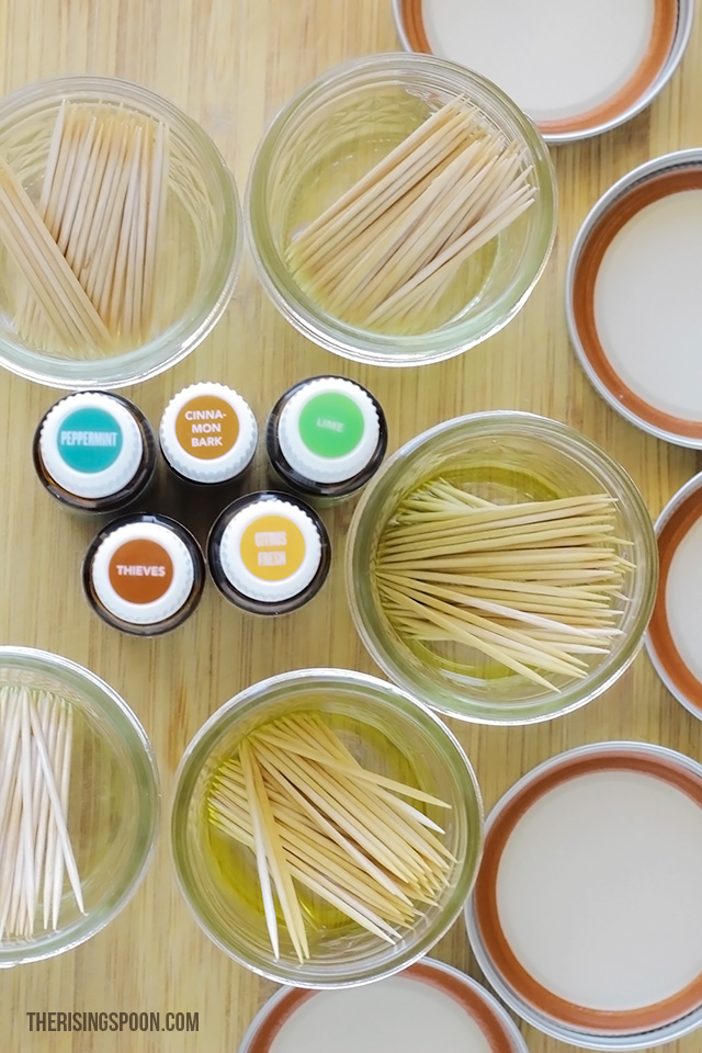 Homemade Christmas Gift Idea: DIY Flavored Toothpicks