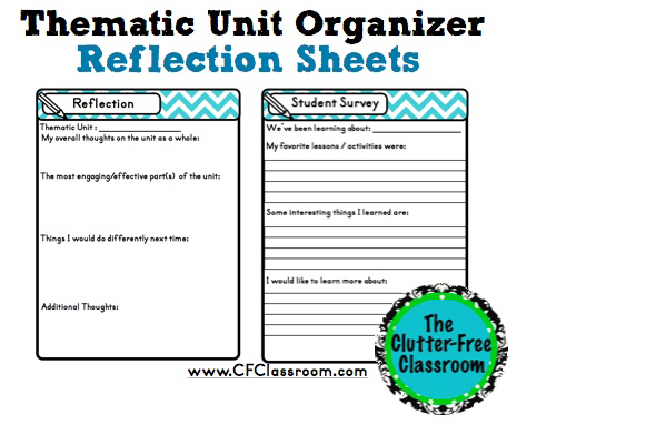 Tips for Planning an Integrated Teaching Unit {Cross-Curricular - unit organizer routine template