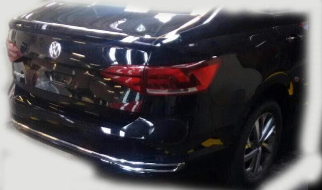 Volkswagen Virtus (Polo Sedan 2018)