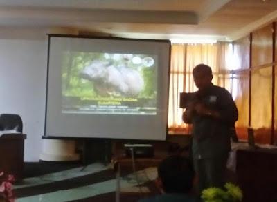 HIMBIO Selenggarakan Seminar Konservasi Badak