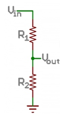 Resistor divider