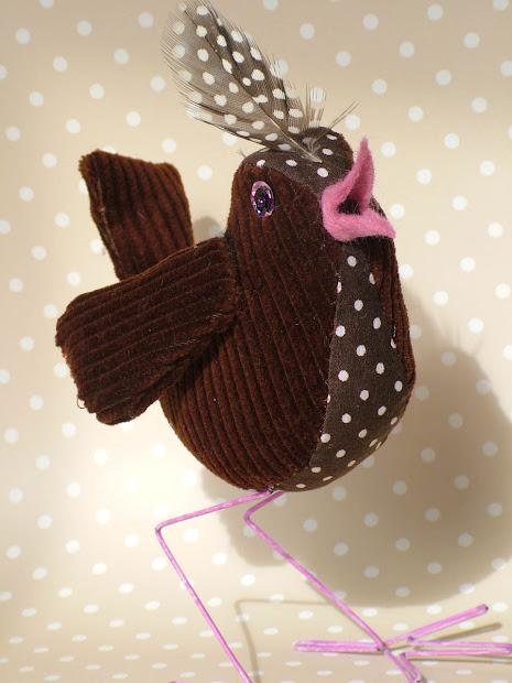 Miyramblings Fabric Bird In Patchwork Style Pdf Tutorial