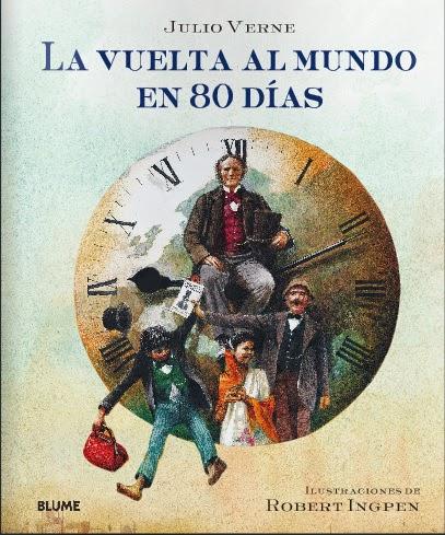La vuelta al mundo en 80 días Julio Verne BLUME