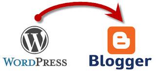 Cara Memindahkan Isi Blog WordPress ke Blogger  Cara Memindahkan Isi Blog WordPress ke Blogger (Blogspot)