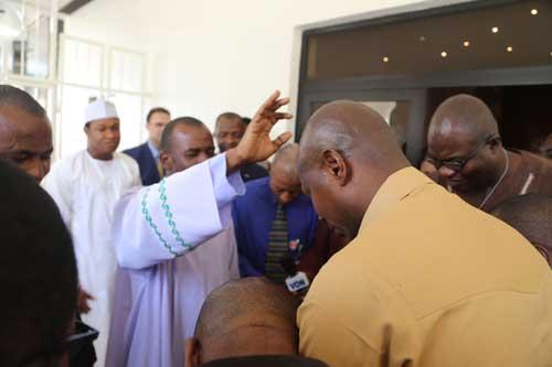 mbaka visits buhari