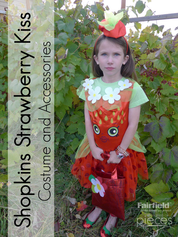 Pieces by Polly: Strawberry Kiss Shopkins Costume and Trick-or ...
