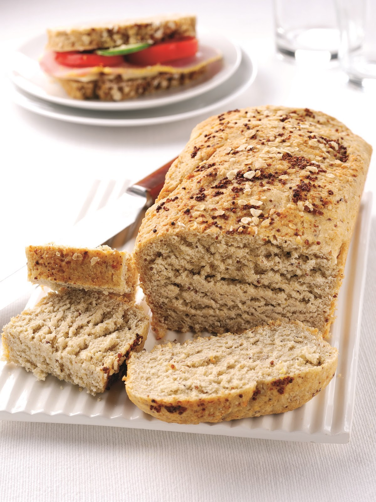 Cheddar And Grainy Mustard Oat Bread Recipe