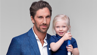 Henrik Lundqvist And His Kid Png