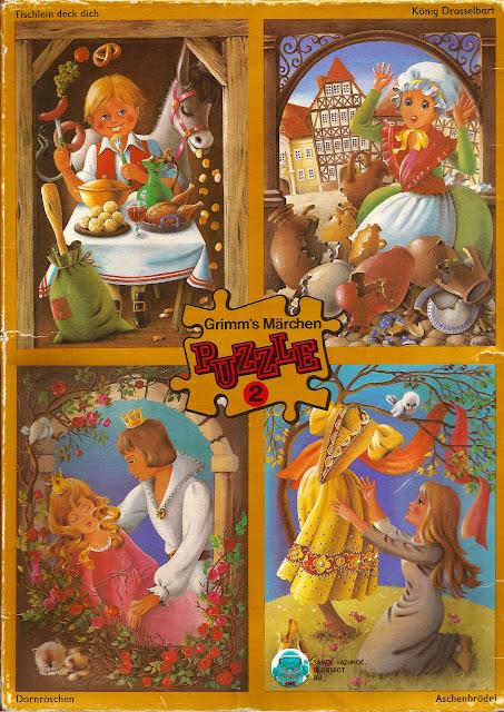 ГДР пазлы. Сказки братьев Гримм, Золушка, Спящая красавица пазл СССР. Пазл ГДР Сказки братьев Гримм, Германская Демократическая республика, DDR.