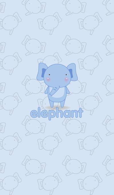 Simple cute elephant theme