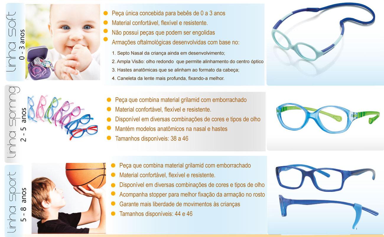 Óculos Infantil em Silicone de 0 a 8 anos dfa49d6cf5