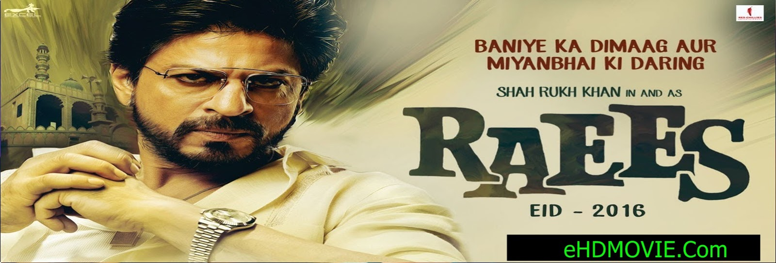 Raees 2017 Full Movie Hindi 720p - 480p ORG BRRip 400MB - 550MB - 1.2GB ESubs Free Download