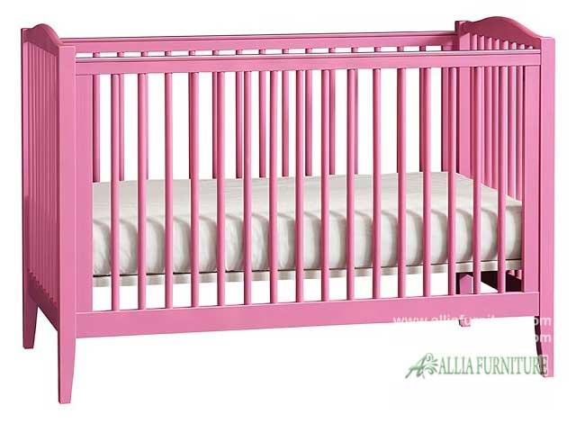 tempat tidur balita bayi model azalea