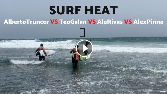 el MEJOR HEAT de SURF en Málaga ¿Quién es tú GANADOR