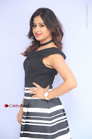 Actress Mi Rathod Pos Black Short Dress at Howrah Bridge Movie Press Meet  0061.JPG