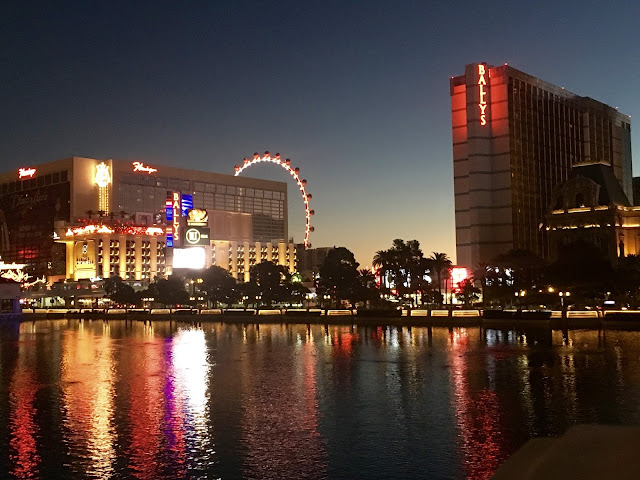 Las Vegas, Vegas strip, sunrise