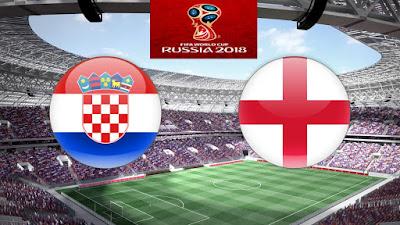 Live Streaming Croatia vs England Separuh Akhir Piala Dunia 12.7.2018