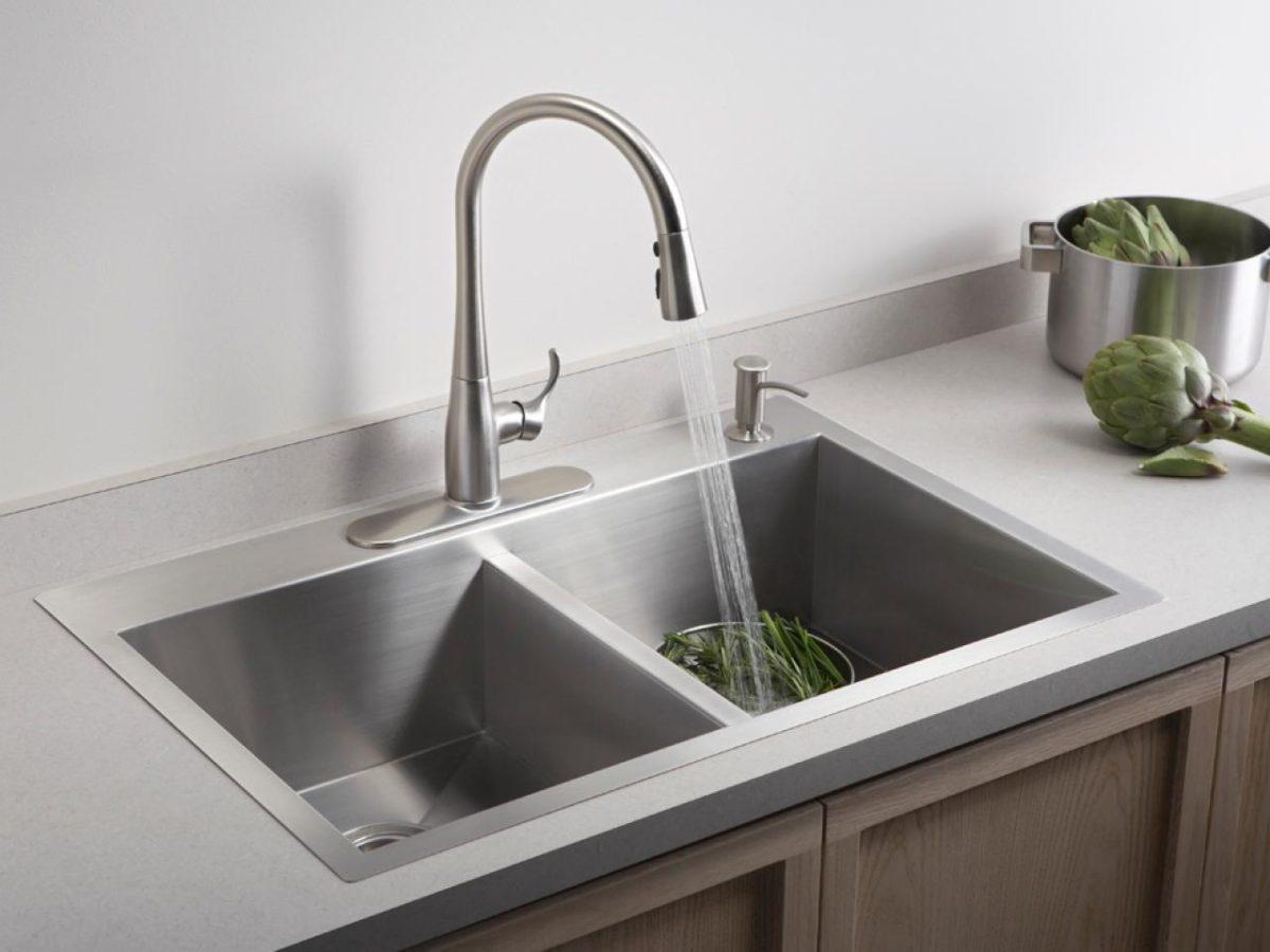 Cara Mudah Membuat Tempat Cuci Piring Selalu Bersih Dan Wangi