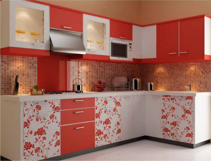 Warna Merah Untuk Dapur