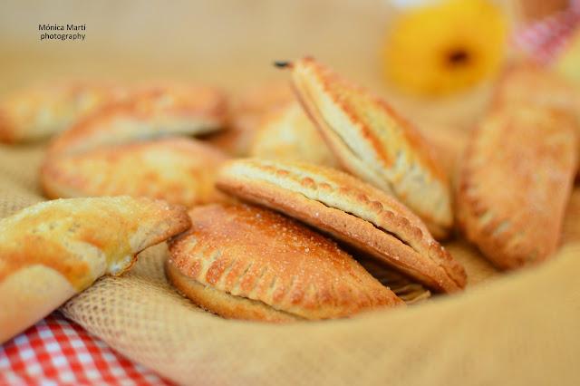 Pastissets de Boniato - Saboreando las estrellas -