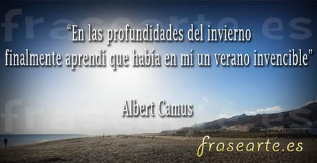 Frases motivadoras de Albert Camus