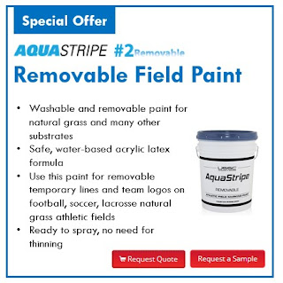 Sports Field Paint News - Magazine cover