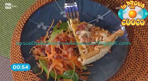 Quiche lorraine con pomodori secchi e paprika affumicata ricetta Marsetti da Prova del Cuoco