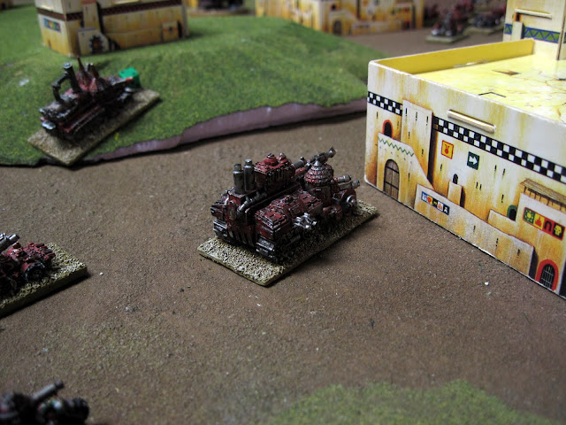 berzerkmonkey's Battle Fortress makes a pit stop.