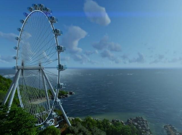 A maior roda gigante da América do Sul