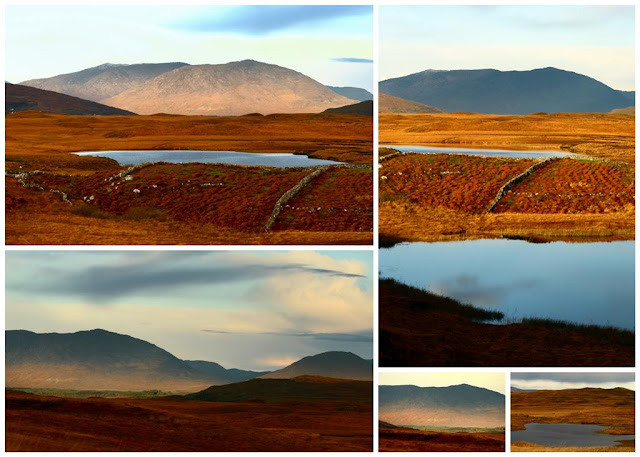Connemara mountainscollage © Annie Japaud Photography, Connemara, Ireland, mountains,