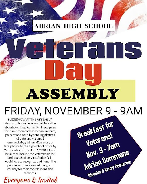 is there school on veterans day