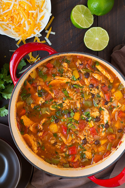 Healthy Snack Option Eat Clean Energy Soup  Low Sugar Fat & Carbs High Protein Chicken Fajita Soup