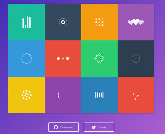 Free SVG-CSS Spinner and Loaders