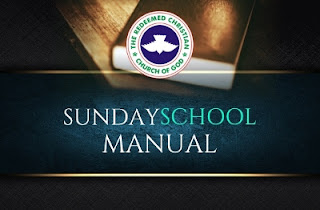 RCCG Sunday School Manual 26th November 2017 Lesson 13