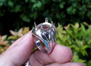 Ring Perak Hongkong 925 Simpel Dan Kokoh PRK038 Harga Satuan