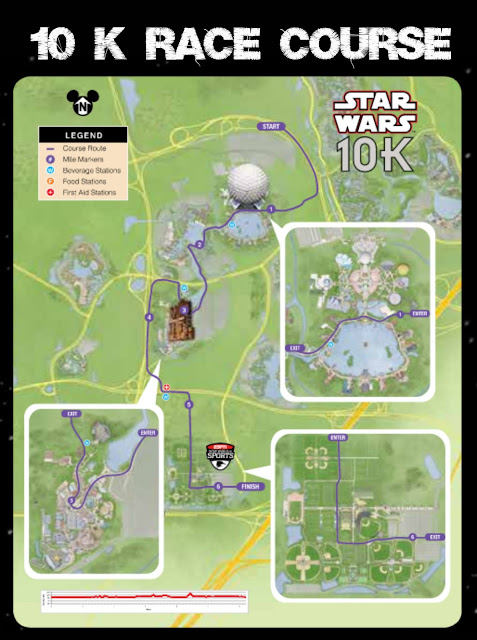 10 K Course Map