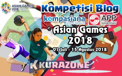 Kompetisi Blog - Asian Games 2018 Berhadiah Total 32,5 Juta Rupiah